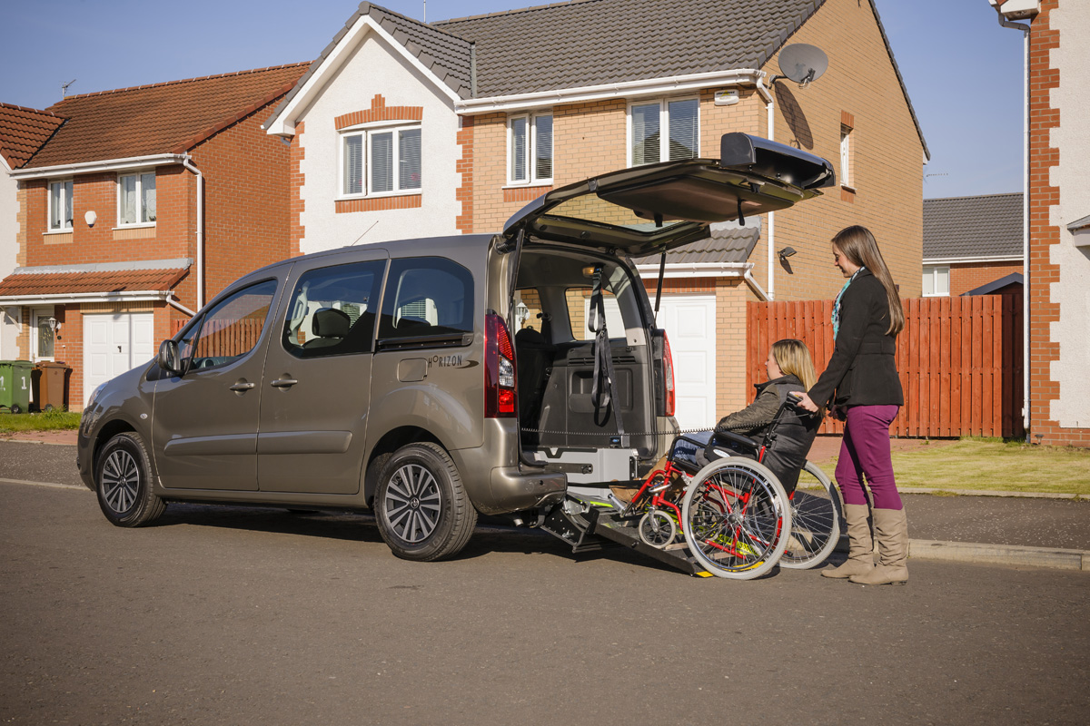 Large Adapted Car Hire