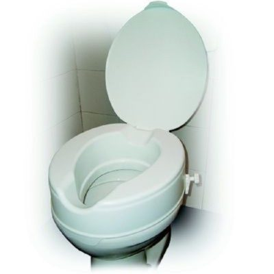 raised toliet seat