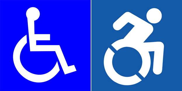 wheelchair access logo
