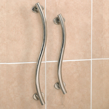 Luxury Bathroom Grab Rails bath & shower grab rails | mobility solutions
