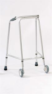 Domestic wheeled walking frame