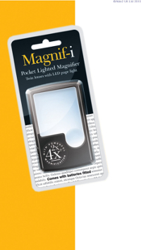 PR70081 Pocket LED Magnifier