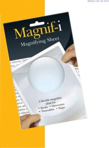 Magnifying Sheet