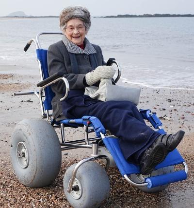 beach wheelchair 2