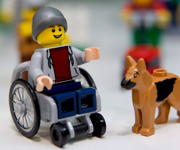 Lego Rolls Out First Ever Disabled Figure Mobility Solutions