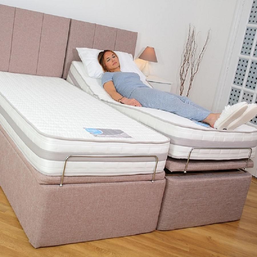 Surprising Adjustamatic Adjustable Ottoman Bed Inzonedesignstudio Interior Chair Design Inzonedesignstudiocom