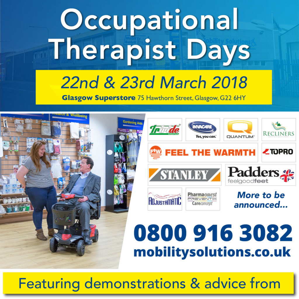 Occupational Therapist Days Glasgow
