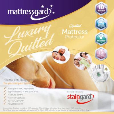 Mattressgard Luxury Quilted Mattress Protetctor