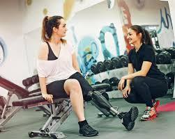 disabled gym goer