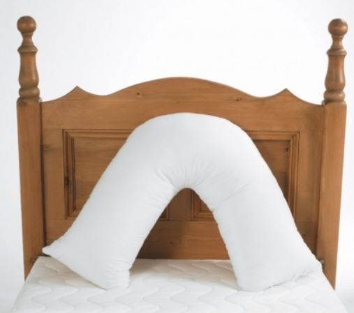 v shaped pillow